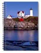 Sunset Nubble Spiral Notebook