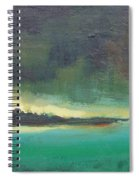 Sunset On Blue Danube Spiral Notebook
