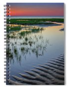 Sunset On Cape Cod Spiral Notebook