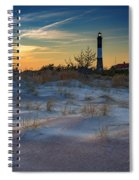 Sunset On Fire Island Spiral Notebook