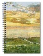 Sunset On Hobie Cat Beach, Siesta Key, Access 8 Spiral Notebook