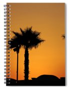 Sunset On Socal Beach Spiral Notebook