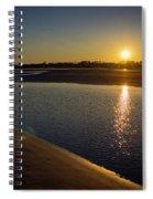 Sunset On St. Simons Island Spiral Notebook