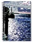 Sunset On The Columbia River Spiral Notebook