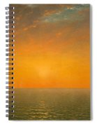 Sunset On The Sea Spiral Notebook