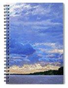 Sunset On The Volga. Gorodets Spiral Notebook