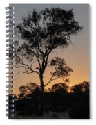 Sunset - Out In The Country Spiral Notebook