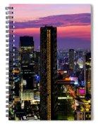 Sunset Over Bangkok Spiral Notebook