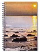 Sunset Over Cara Spiral Notebook