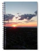 Sunset Over Cleveland Spiral Notebook