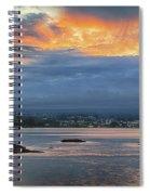 Sunset Over Hilo Spiral Notebook
