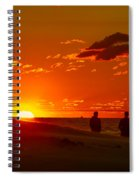 Sunset Over Indiana Dunes Spiral Notebook