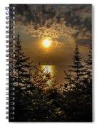 Sunrise Over Lake Huron Spiral Notebook