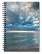 Sunset Over Naples Beach Spiral Notebook