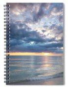 Sunset Over Naples Beach II Spiral Notebook
