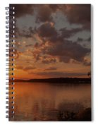 Sunset Over Shark River Spiral Notebook