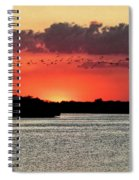 Sunset Over Tampa Bay 2 Spiral Notebook