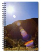 Sunset Over The Olgas Spiral Notebook