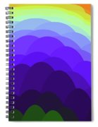 Sunset Over Water Spiral Notebook