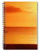 Sunset Paddle Spiral Notebook
