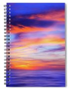 Sunset Palette Spiral Notebook