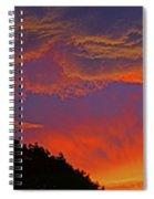 Sunset Panorama 2 Spiral Notebook