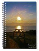 Sunset Picnic Spiral Notebook
