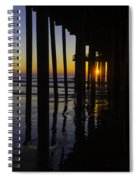 Sunset Pismo Beach Spiral Notebook