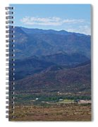 Sunset Point View Spiral Notebook