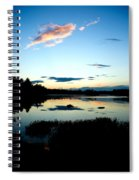 Sunset Pond Spiral Notebook