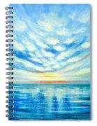 Sunset Quest Blue Spiral Notebook