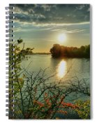 Sunset Reflection Spiral Notebook