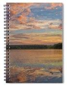 Sunset Reflections Spiral Notebook