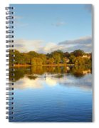 Sunset Reflections On The Lake Spiral Notebook