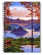 Sunset Reverie Spiral Notebook