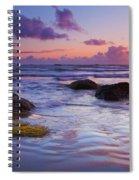 Sunset Ripples Spiral Notebook