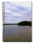 Sunset River Spiral Notebook