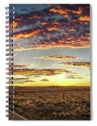 Sunset Road Spiral Notebook