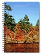 Sunset Rock Spiral Notebook