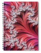Sunset Romance Abstract Spiral Notebook