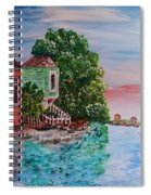 Sunset Sail Spiral Notebook