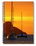 Sunset Sails Spiral Notebook