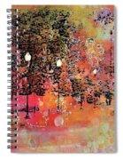 Sunset Saunter Spiral Notebook