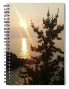 Sunset Scenic Spiral Notebook