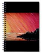 Sunset Sea Spiral Notebook