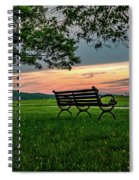 Sunset Seating Spiral Notebook