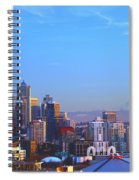 Sunset Seattle Spiral Notebook