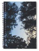 Sunset Shadows Spiral Notebook