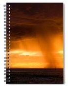 Sunset Shower Spiral Notebook