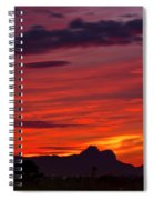 Sunset Silhouette H1816 Spiral Notebook